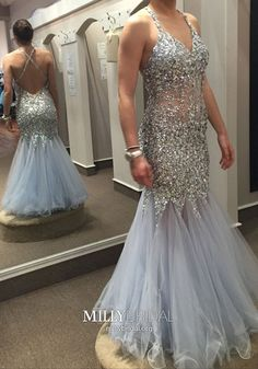 Beautiful Prom Dress, backless prom dresses open back prom dress light blue prom gown sparkly prom gowns elegant evening dress sparkle evening gowns mermaid evening gowns sexy prom dress 2018 party dress for teens Meet Dresses Prom Gowns Elegant, Sequin Prom Dresses, Open Back Prom Dresses, Prom Dresses 2016, Beaded Prom Dress, Plus Size Prom Dresses, Backless Prom Dresses, Mermaid Prom Dresses, Cheap Prom Dresses