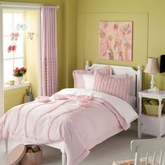 Easy and Stylish Girl's Bedroom Ideas : Modern Design For Girls Bedroom Ideas Layout | Girls Room Ideas