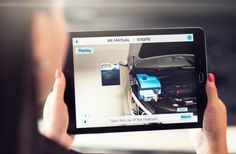El manual del coche en realidad aumentada con Hyundai