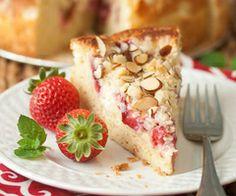 Strawberry-Cream Cheese Coffee Cake