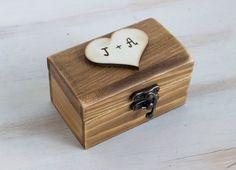 Wedding Ring Box Ring Bearer Box Custom ring by MyHouseOfDreams