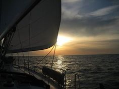 Sailingboat in Baleari.
