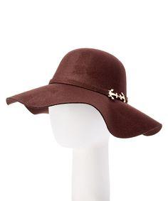 824fafff6cc Another great find on  zulily! Brown Floppy Hat  zulilyfinds Good Girls  Revolt