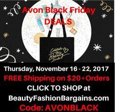 addb2b1ef3 Avon Black Friday Free Shipping Starts 11 16 17. Use coupon code AVONBLACK