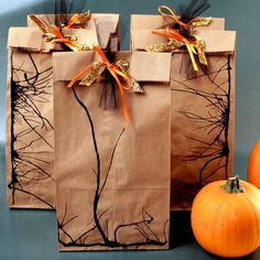 Plus more fall-tastic gift wrapping ideas
