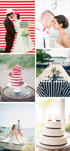 nautical themed weddings Nautical Wedding Ideas for the Fourth of July
