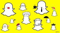 Bilde av Snapchat spøkelset med forskjellige personligheter. Hva er din Snapchat personlighet? Bart Simpson, Snapchat, Snoopy, Fictional Characters, Pictures, Fantasy Characters