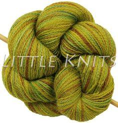 Little Knits Cascade Alpaca Lace Paints - River Moss (Color 9987)