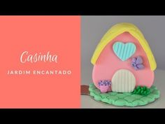 MINI BOLO CASINHA (JARDIM ENCATADO ) - YouTube Bolo Youtube, Mini Pastries, Personalised Sweets, Chicken, Modeling, Recipes, Future, Flowers, Atelier
