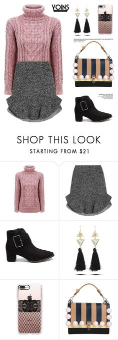 """""""Yoins 6: So what do you think?"""" by bugatti-veyron ❤ liked on Polyvore featuring Isabel Marant, Casetify, Fendi, yoins, yoinscollection and loveyoins"""