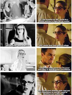 Arrow - Oliver & Felicity #Olicity <3 <3 <3