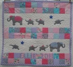 Image detail for -Green Star Quilts - Baby Quilts