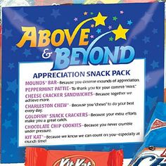 Above & Beyond Appreciation Snack Pack