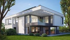 This Luxury Home Design is located in the middle of a peaceful place surrounding with green environment full of beautiful green trees and grass and even a setting place that could be designed willingly.