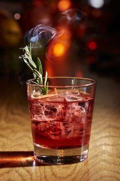 mezcal (Hello Stranger uses Wahaka espadín) 1 ½ oz. Campari Tools: barspoon, strainer Glass: Old Fashioned Garnish: grapefruit twist, rosemary sprig Mezcal Cocktails, Festive Cocktails, Craft Cocktails, Cocktail Drinks, Cocktail Recipes, Mezcal Tequila, Tequila Drinks, Liquor Drinks, Cocktail Ideas