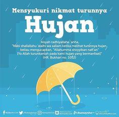 Jangan cela ketika hujan turun..