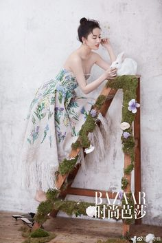 Liu Yifei in Harper's BAZAAR Asian Style, Chinese Style, Asian Woman, Asian Girl, Clothes 2019, Beauty Shoot, Prom Night, Chinese Actress, Photoshoot Inspiration