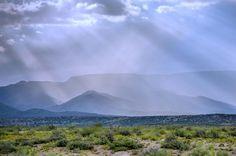 Verde Valley Rain Storm by grazinawade