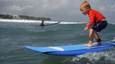SURFING WITH KIDS IN BALI