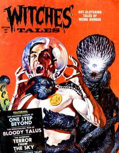 Witches' Tales Vol. 3 #5 (Eerie Publications 1971) #horror #pulp #comics
