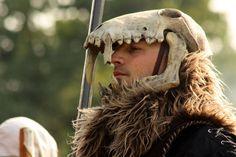 I love skull helmets... I should make one with a dear skull!!