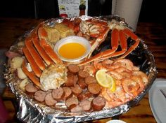 The Crab Shack Appetizer Tray in Tybee Island, Georgia