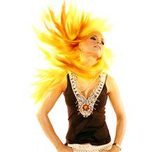 Yellow Hair 2 | Hair Highlights Hairstyle