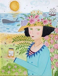 Painting *  Nantucket Honey