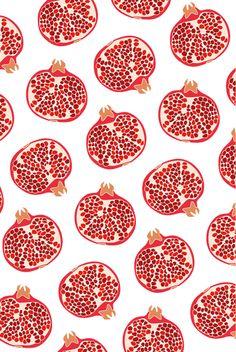 Pommegranates by Jet Peters www.klofje.nl
