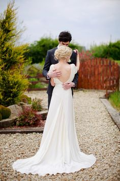 A Belle and Bunty Wedding Dress for and Irish Wedding With a Laid Back Vibe…   Love My Dress® UK Wedding Blog