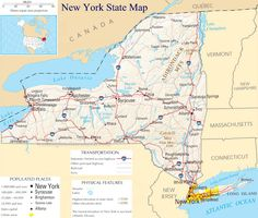 Map Of New York State Usa.54 Best State Of New York Usa Images United States New York City Nyc