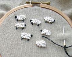 stitch, craft tutorials, lamb