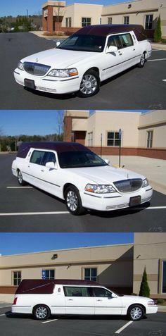 2004 Lincoln Town Car Eureka Kingsford Hearse [ready for service] Lincoln Town Car