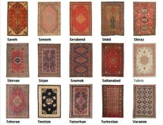 Guide to oriental rugs : characteristic motif of the different origins  5