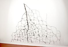 Cut Out Drawing  by Matthew Picton (draw on the wall. crack)