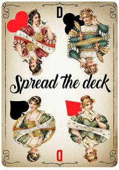 Card deck queens printable wall art living room bedroom playing cards tarot cards Our favorite queens, queens of the deck, beautiful printable wall art you can put in your living room or your bedroom. Spread the deck in your life again and again. Dimension: A4