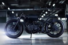 Bandit9 Nero Motorcycle ($TBA) - completely matte black build, leaving only the headlamp and taillight unaffected by the darkness, features a rebuilt engine and transmission, 19-inch wheels — spoke in the front, alloy in the rear