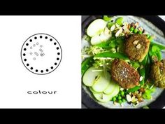 Fall in love with a new kind of falafel - super delicious and ready super fast! SHOP the vid: INGREDIENTS Salad Chickpeas: Canned, 1 cup drained and rinsed P. Falafel Salad, Food Videos, Delicious Food, Cabbage, Salads, Food And Drink, Paper Crafts, Apple, Vegetables