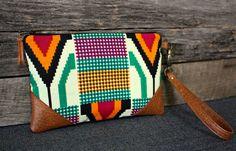 Azteca bolso de mano / embrague / Navajo / por SweetPeaTotes