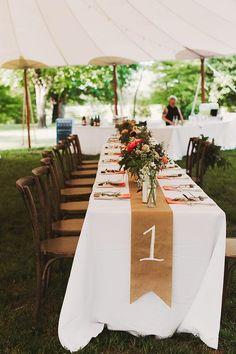 Wedding table number ideas. Nessa K. Photography.