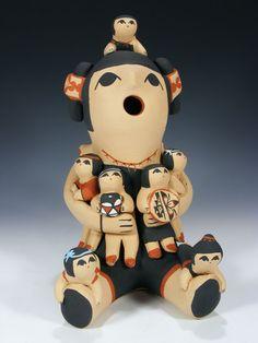 Jemez Pueblo Storyteller by Marie Toya