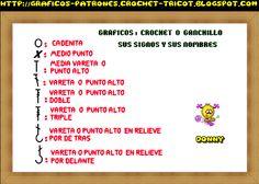 PATRONES=GANCHILLO = CROCHET = GRAFICOS =TRICOT = DOS AGUJAS: ABANICOS