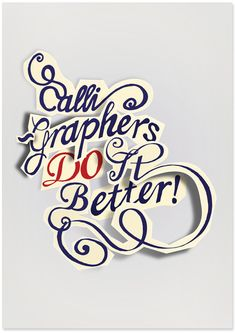 Typography :: Calligraphy