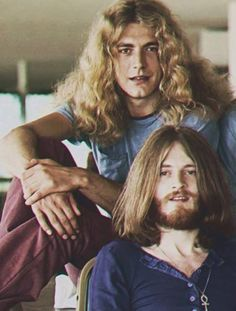 Led Zeppelin - The world would be a better place if men grew out their hair...