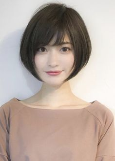 52 Beautiful Teen With Short Hairstyle That Can To Try Staying beautiful is a comprehensive package your physical look and body gestures bring along. If you've got thin hair, then […] Cute Hairstyles For Short Hair, Girl Short Hair, Hairstyles Haircuts, Short Hair Cuts, Japanese Short Hairstyle, Japanese Hairstyles, Korean Short Hair Bob, Korean Hairstyles, Girl Haircuts