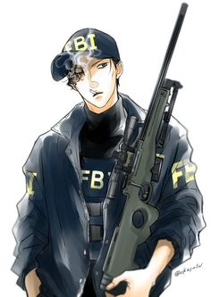 Character Concept, Character Art, Scary Drawings, Gosho Aoyama, Detektif Conan, Anime Military, Kuroo Tetsurou, Police Detective, Turtle Love
