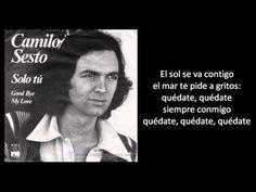 Camilo Sesto - Good bye my love - 1976' (+lista de reproducción)