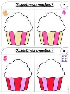 Christall'Ecole - Le blog d'une enseignante qui vous invite à découvrir, partager, rêver... Preschool Birthday, Birthday Activities, Math Activities, Montessori Math, Preschool Learning, Teaching Math, Birthday Book, Felt Quiet Books, Pre Kindergarten