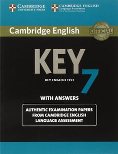 Cambridge English Key 7. Key english test with answers.