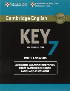 Cambridge English Key 7. Key english test with answers.